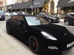 Velvet Porsche in London