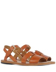 dc19b735d7ae Sandals - A.P.C. Brown Leather Sandals
