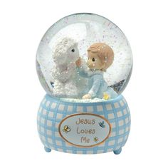 Precious Moments figurines are a classic! Looks great in the nursery.