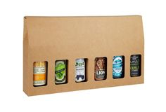 Six Beer Bottle Box - Pack of 10 - Home Brewery Packaging