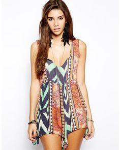 c1fb5003a85e5 Sophia Border Print Tie Front Maxi Kimono | Spring Break | Pinterest |  Kimonos, Beach covers and Boohoo