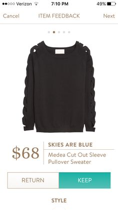 Stitch fix #4- Love the edgy detail!