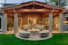 Covered Patio - klassisch - Pergola & Atrium - San Francisco - Kikuchi + Kankel Design Group