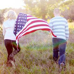 flag air force patriotic engagement photos