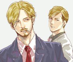 Shingeki no Kyojin | Attack on Titan | Mike Zacharius | Erwin Smith