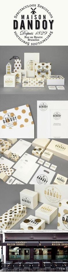 Maison Dandoy I'm seeing spots #identity #packaging #branding curated by Packaging Diva PD
