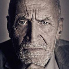 Strong facial expression