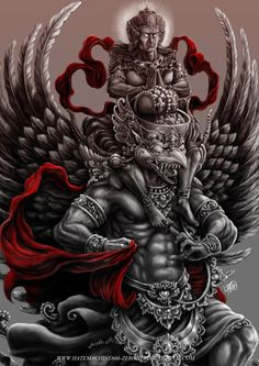Royal Blood: Garuda Vishnu on Behance