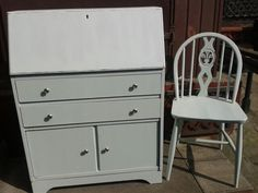 My bureau after! Recycled Furniture, Bespoke, Upcycle, Restoration, Dresser, Recycling, Hearts, Handmade, Home Decor