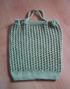 Free Knitting Pattern Grocery Bag : 1000+ images about Knits - Bags on Pinterest Tote purse ...