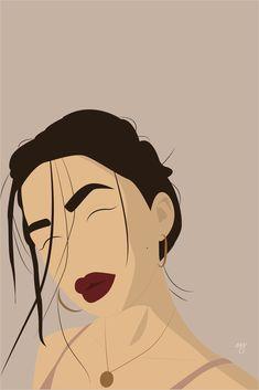 Pop Art Illustration, Portrait Illustration, Graphic Design Illustration, Abstract Face Art, Arte Sketchbook, Portrait Art, Digital Portrait, Digital Art Girl, Cartoon Art