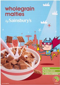 Sainsbury's Wholegrain Malties Cereal (750g)