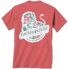 New World Graphics Women's Southeastern Louisiana University Floral T-shirt
