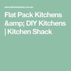 Flat Pack Kitchens & DIY Kitchens | Kitchen Shack