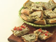 Grilled Pesto French Bread