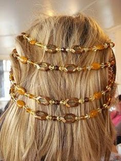 More Hair Jewelry Tutorials ~ The Beading Gem's Journal