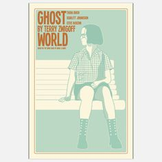 Ghost World Print 16x24 now featured on Fab.