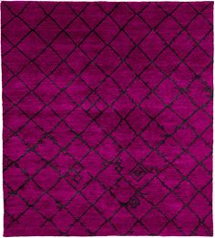 12x18 Bouteille De Rose Hand Knotted Tibetan Rug from the Tibetan Rugs 1 collection at Modern Area Rugs