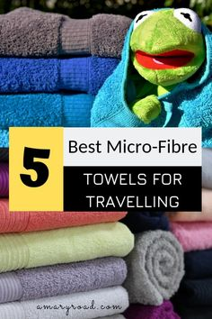 If you are travellin If you are travelling soon with limited space in your luggage you might want to get one of these 5 best quick dry towels for backpacking camping or any other sports activities. They are microfibre lightweight and fast dry. Best Travel Apps, Best Travel Backpack, Packing List For Travel, Vacation Packing, Packing Lists, Best Travel Clothes, Travel Gadgets, Travel Hacks, Budget Travel