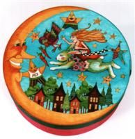 Helen Heins-Peterson painted box