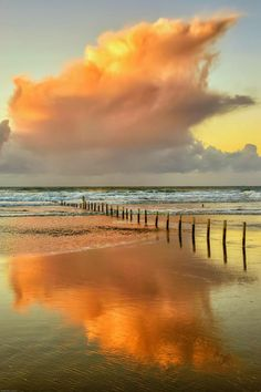 Portstewart Strand on the North Coast of Northern Ireland...