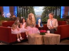 Nicki Minaj gives Sophia Grace & Rosie some advice.