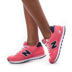 Balance Wl574Pop: Nb Classic 574 Pique Polo Pack Pink Casual Sneakers Women