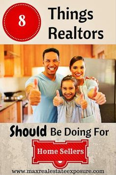 8 Things Real Estate Agents Should Be Doing For Home Sellers:  http://www.maxrealestateexposure.com/things-real-estate-agents-should-be-doing-for-home-sellers/