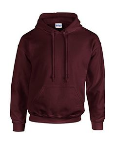 Gildan Heavy Blend Erwachsenen Kapuzen-Sweatshirt 18500 XXL, Maroon - http://besteckkaufen.com/unbekannt/xxl-gildan-unisex-kapuzen-sweatshirt-heavy-blend-9