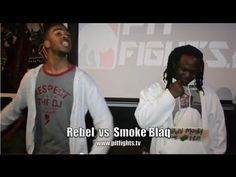PIT FIGHTS BATTLE LEAGUE /THE KENNEL : REBEL vs SMOKE BLAQ