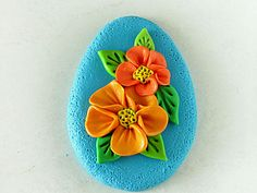 Flowers - Need to translate but fast and easy. #Polymer #Clay #Tutorials