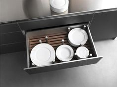 Bulthaup Plate Drawer   Remodelista