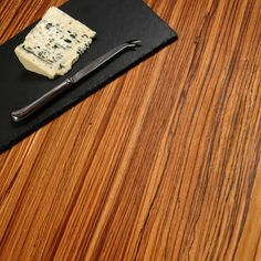 Worktop Express are the UK's leading online solid wood worktop specialists, stocking a huge range of full stave zebrano worktops at highly competitive prices. Work Tops, Open Kitchen, Golden Brown, Woodworking, Plank, Wood Slab, House, Bulletin Boards, Joinery