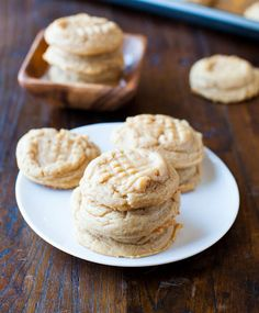 Old Fashioned Chewy #PeanutButter Cookies Recipe