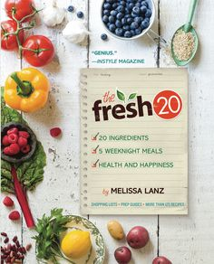 Fresh 20- A meal planning service (classic, gluten free, and vegetarian options) that focuses on fresh, local, and seasonal ingredients! Giveaway running through Sunday, April 22nd for one year subscription!