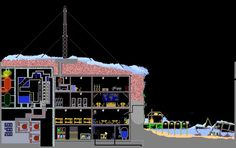 The Powder Toy - Arctic nuclear base by Sandbox, Arctic, Powder, Base, Toys, Fun, Litter Box, Activity Toys