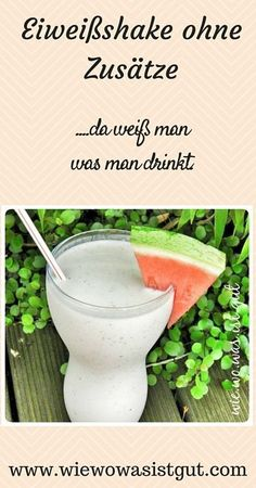 Eiweißshake nach dem Sport ohne Zusätze (oder künstliches Pulver)...da weiß man was man drinkt. (scheduled via http://www.tailwindapp.com?utm_source=pinterest&utm_medium=twpin&utm_content=post118191559&utm_campaign=scheduler_attribution)