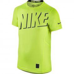 #Nike Pro Hypercool fitness #shirt volt voor jongens