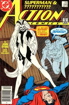 ACTION COMICS #595  DC COMICS  DECEMBER 1987 1st Appearance of the Silver Banshee