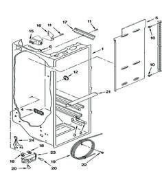 Refrigerator Schematics Frigidaire dishwasher