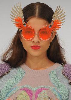 winged glasses