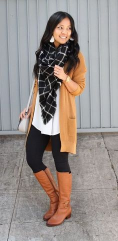 6 Easy Casual Comfy Outfits With Leggings for Fall Leggings aren't just for leisure outfits or&; 6 Easy Casual Comfy Outfits With Leggings for Fall Leggings aren't just for leisure outfits or&; Carissa My […] with leggings edgy Winter Outfits For Teen Girls, Fall Outfits For Work, Casual Fall Outfits, Cool Outfits, Casual Winter, Dress Outfits, Fashion Outfits, Fall Winter, Fall Fashion
