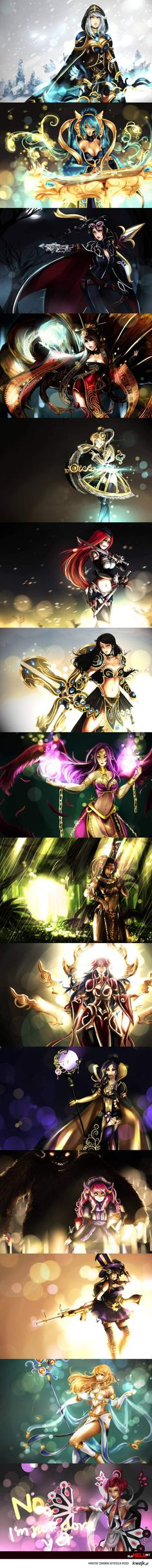 #Riot or #Rito whatever you are now, please use these as character update references, these are beautiful and well done. Their uniqueness is really shown in these.