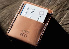 Designed for everyday use, the Card Holster Playing Card Wallet is a rugged yet beautiful leather wallet design.