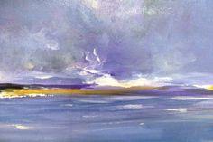 Kate Walsh Sea Acrylics on Canvas Kate Walsh, Acrylics, Paintings, Sea, Canvas, Tela, Paint, Painting Art, The Ocean