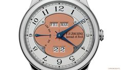 The latest perpetual calendar by FP Journe.
