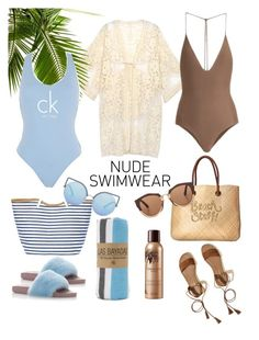 """""""Summer time"""" by djulianne ❤ liked on Polyvore featuring Do Everything In Love, Hollister Co., Dolce&Gabbana, White Stuff, Guerlain, Las Bayadas, Jade Swim, Calvin Klein, Chico's and Matthew Williamson"""