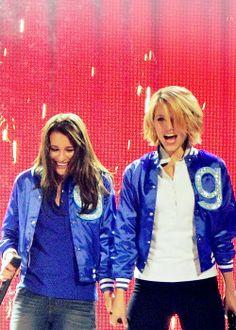 Lea & Diana, Glee Live!