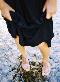 Feet in water - you will be missed again this winter.