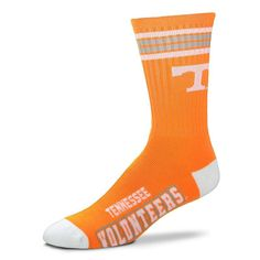 Large NCAA West Virginia Mountaineers Team Quarter Crew Socks